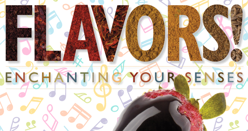 Flavors – 6pm, Saturday, June 1, Hollenbeck Bayley Center